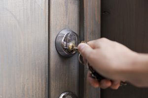 Home security_home monitoring_lock doors