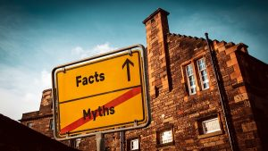 Facts and Myths Sign image